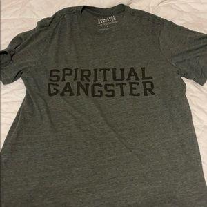 Spiritual Gangster tee
